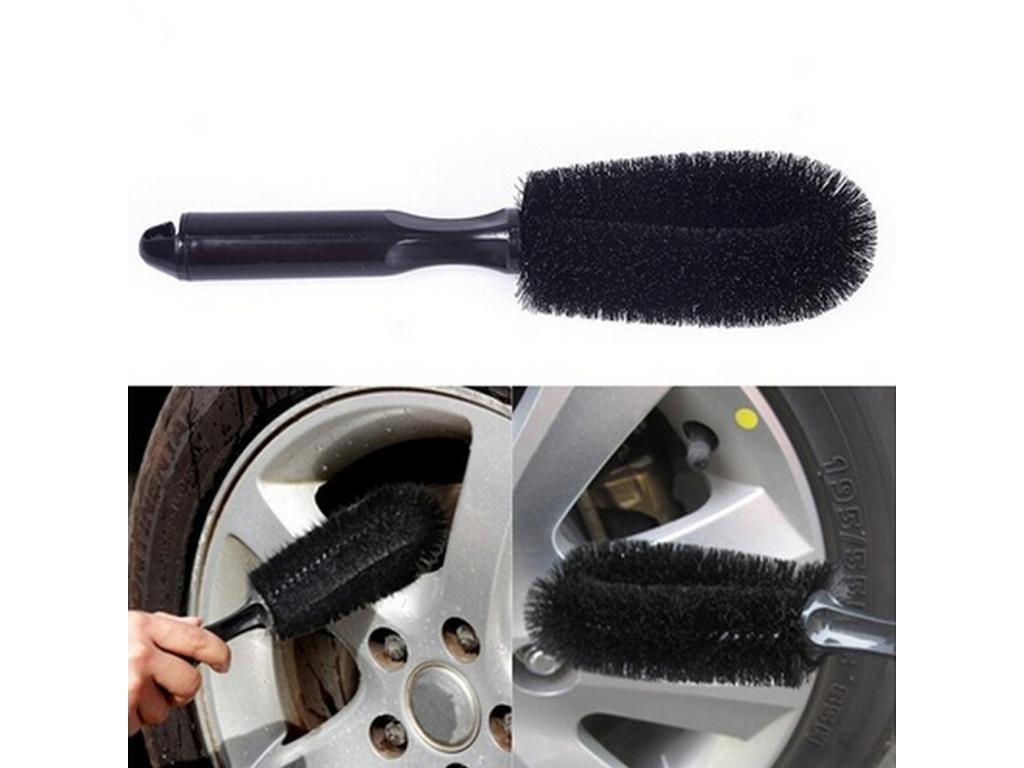 1PCS Car Truck Motorcycle Bicycle Washing Cleaning tool Wheel Tire Rim Scrub Brush Car Brush Tool (4)