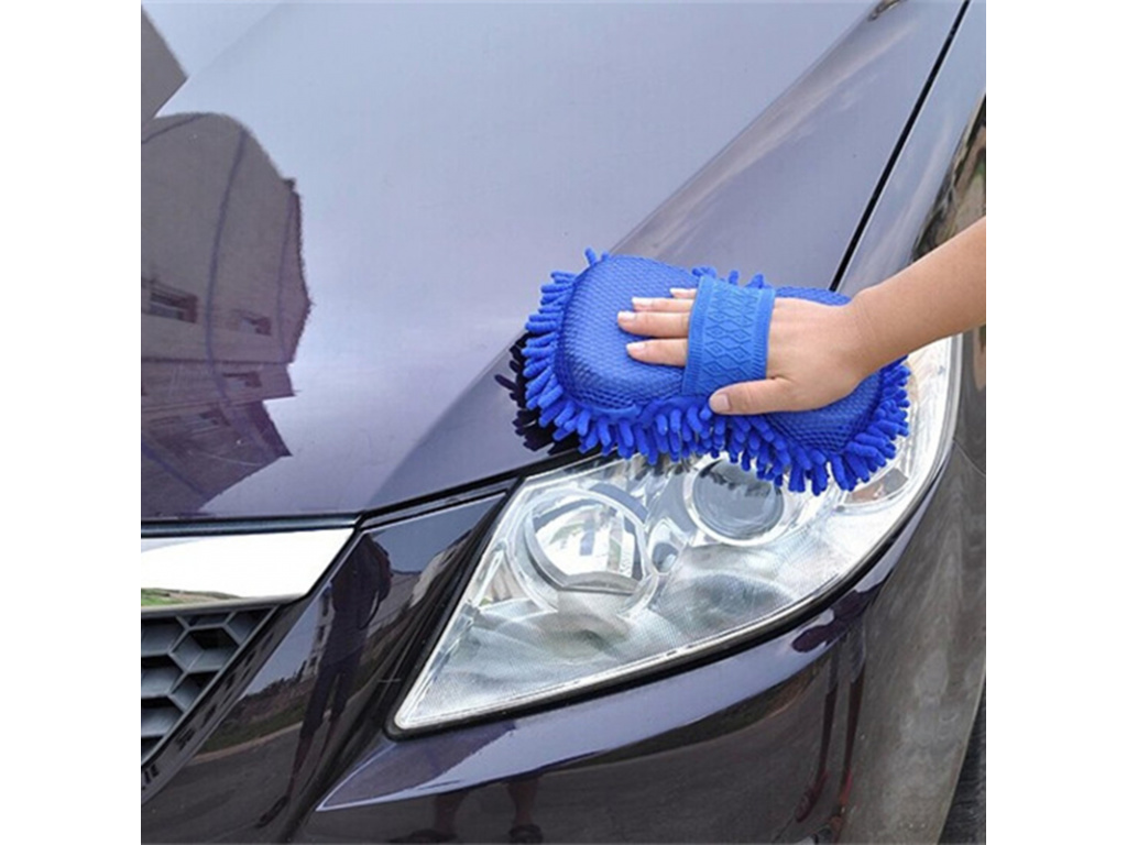 Hot Ultrafine Fiber Chenille Anthozoan Car Wash Gloves Microfiber Car Motorcycle Washer Supplies Car care brushes (2)