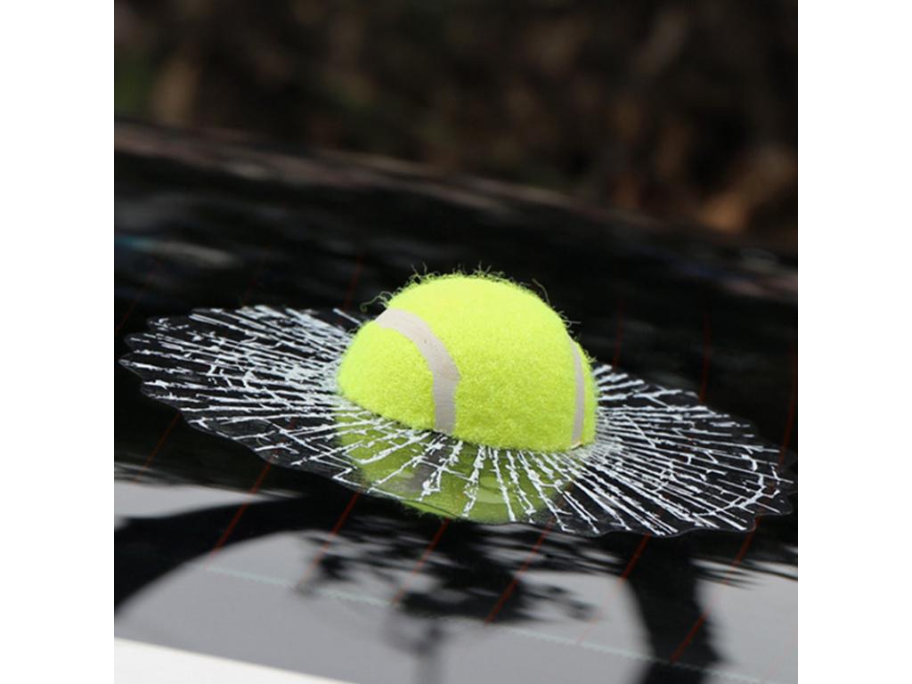 3D Car Stickers Funny Auto Car Styling Ball Hits Car Body Window Sticker Self Adhesive Baseball (3)