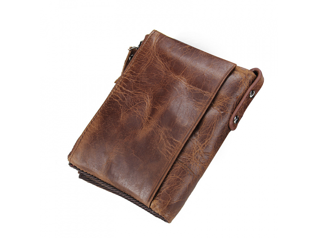CONTACT S HOT Genuine Crazy Horse Cowhide Leather Men Wallet Short Coin Purse Small Vintage Wallet (1)