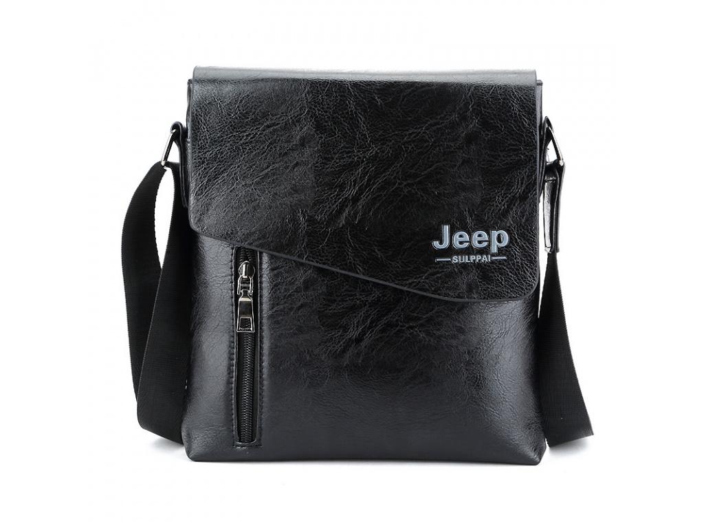 Pánská taška Jeep cop. (Barevná varianta Černá)