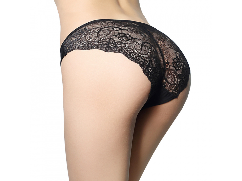 L 2XL Free shipping Hot sale women s sexy lace panties seamless cotton breathable panty Hollow
