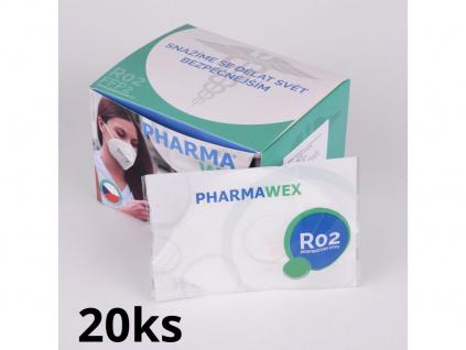 krabicka 20k respiratory ffp2 pharmawex