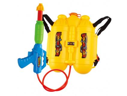 strikaci vodni pistol zasobnik na zada oranga