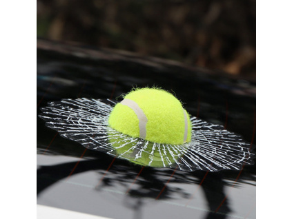 3D Car Stickers Funny Auto Car Styling Ball Hits Car Body Window Sticker Self Adhesive Baseball (3)