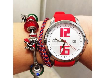 SINOBI Fashion Sports Women Wrist Watches Silicone Watchband luxury Brand Ladies Running Geneva Quartz Clock Montres