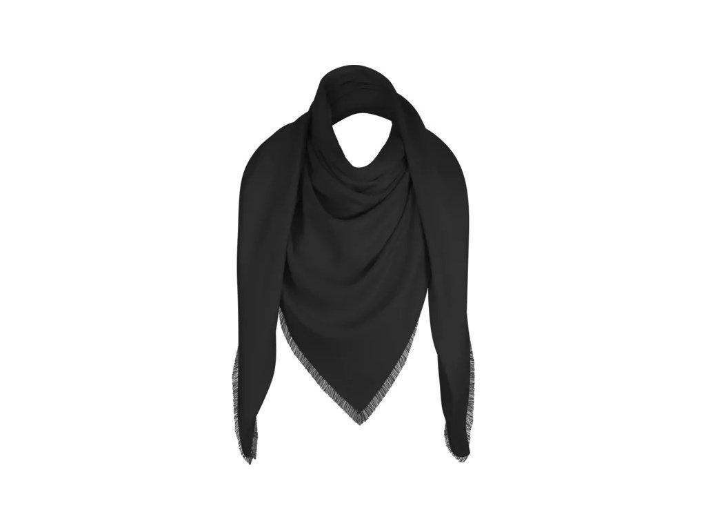 Šátek Esoria Piazza dámský - High Society, noire