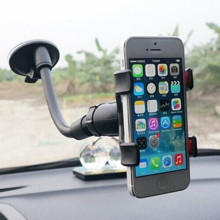 iTrade Univerzální držák na mobil do auta Soft Tube 360° - modrý