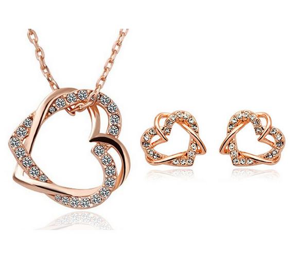 Třídílná sada šperků Amorelis