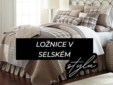 Selský styl: Romantická ložnice s nádechem venkova