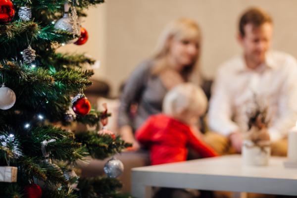 Vánoční atmosféru vytvoříte správně zvoleným povlečením a jednoduchými doplňky