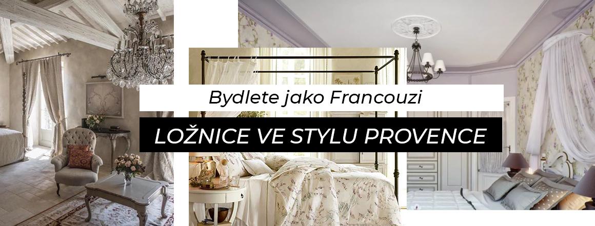 Bydlete jako Francouzi: Ložnice ve stylu Provence