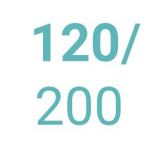 Pěnové matrace 120 x 200 cm