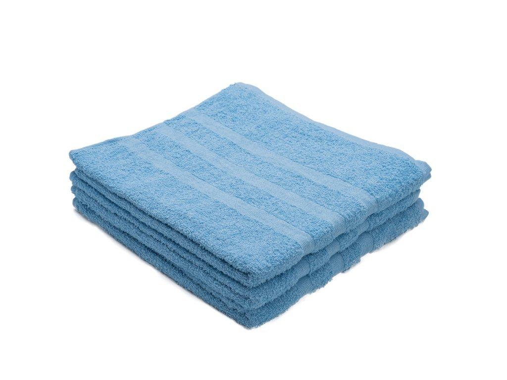 Osuška bavlněná 70 x 130 cm modrá