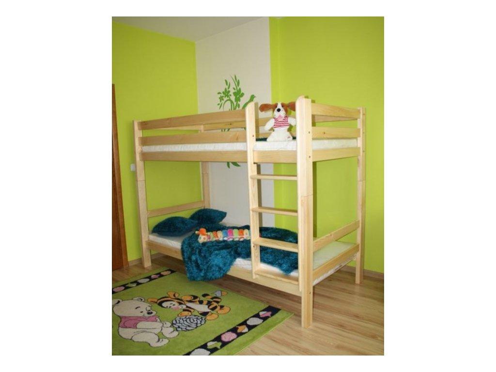 Patrová postel ADAS 90 x 200, borovice
