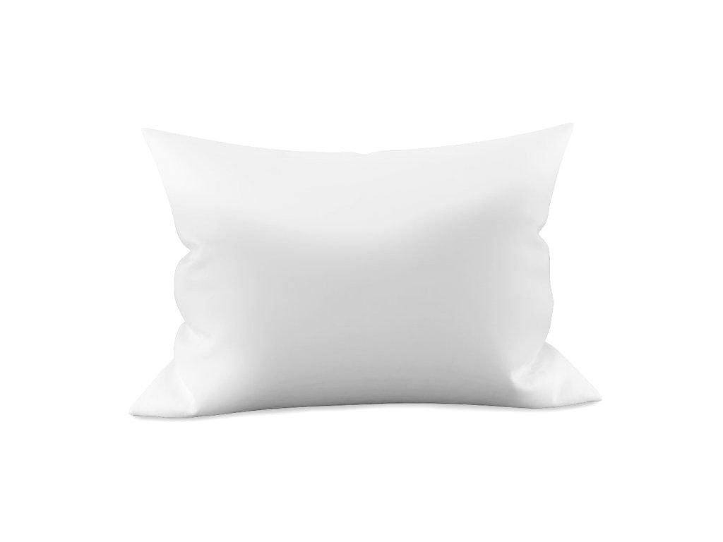 Povlak na polštář saténový damašek bílý