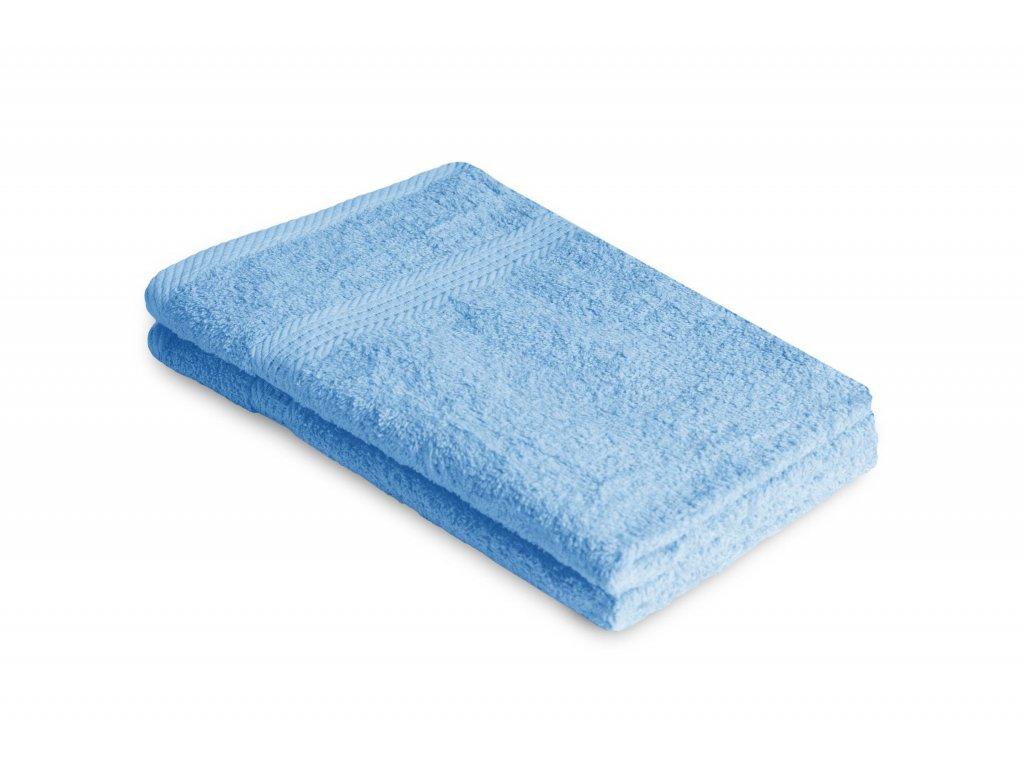 Ručník malý dětský 40 x 60 cm  pro hosty bavlněný modrý