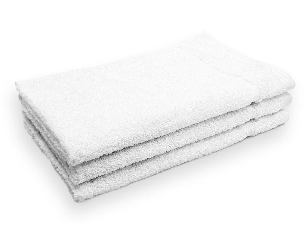 Ručník malý dětský 30 x 30 cm pro hosty bavlněný bílý