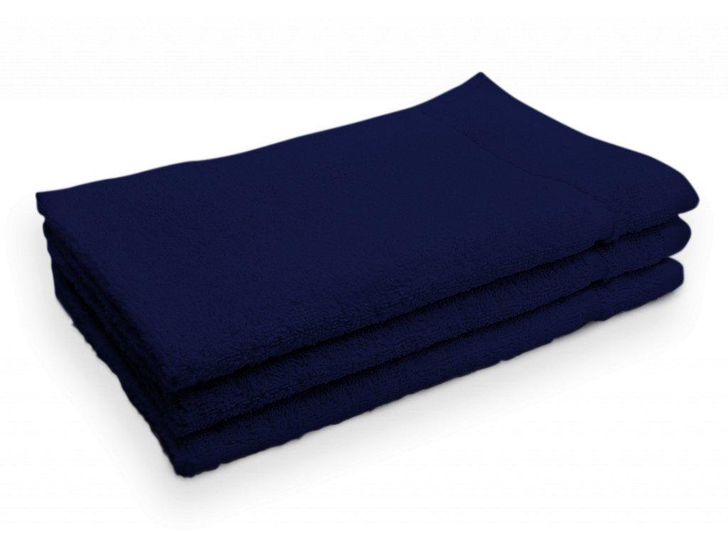 Ručník malý dětský pro hosty bavlněný modrý