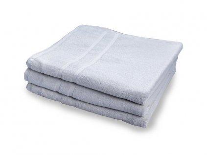 Osuška maxi velká bavlněná  100 x 150 cm bílá