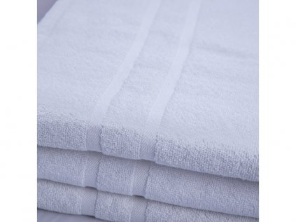 Osuška maxi velká bavlněná  100 x 200 cm bílá