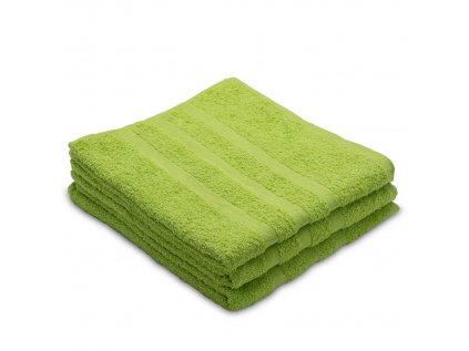 Osuška bavlněná 70 x 130 cm zelená