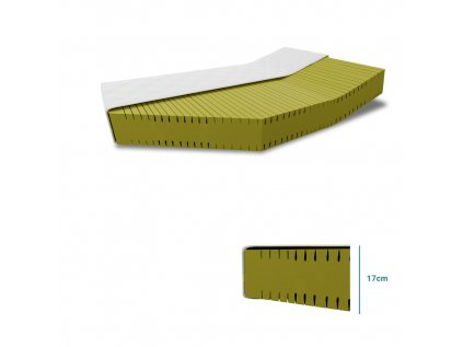 Matrace ANTIDEKUBIT SOFT 18 cm 80 x 200 cm