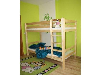Patrová postel ADAS 90x200, borovice