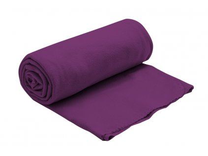 Fleecová deka fialová 150x200 cm