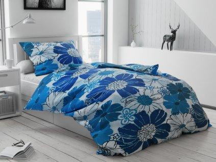 1547 1 flanelove povleceni modre tyrkysove kvety kvetiny 1024x768