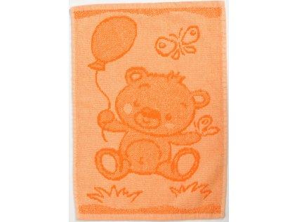 MOTIV oranzovy medvidek