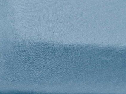 Jersey bavlna svetle modra