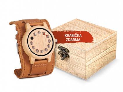 67 drevene hodinky eternal