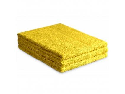 Osuška Soft žlutá