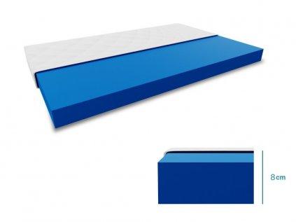 Dětská matrace COMFY HR 8 cm 80x160 cm