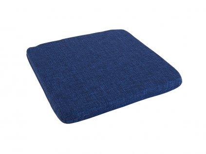 Podsedák na židli Melange tmavě modrý