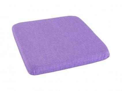 Podsedák na židli Melange světle fialový