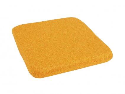 Podsedák na židli Melange žlutý