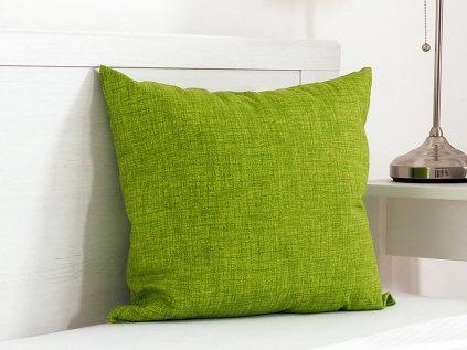 Dekorační polštářek Melange zelený