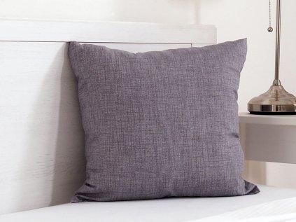 Dekorační polštářek Melange šedý