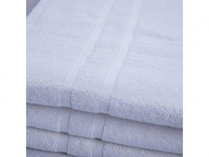 Hotelový ručník Deluxe bílý