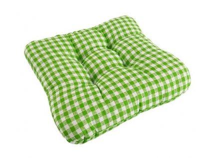 Podsedák na židli Soft kostička zelený