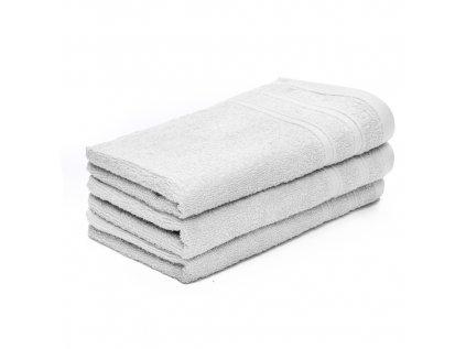Ručník malý dětský 30 x 50 cmpro hosty bavlněný bílý