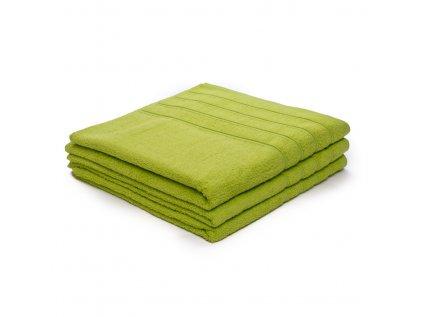 Osuška bavlněná 70 x 140 cm zelená