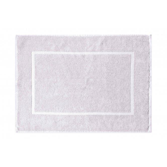 Koupelnová přednožka hotelová rohožka bavlněná froté bílá
