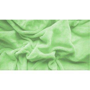 prostěradlo mikroplyš plyšové teplé dvoulůžko 180 x 200 cm zelené