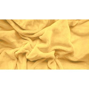 prostěradlo mikroplyš plyšové teplé dvoulůžko 180 x 200 cm žluté