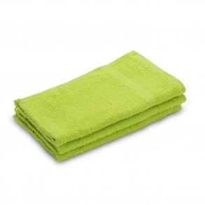 Ručník malý dětský 30 x 50 cmpro hosty bavlněný zelený