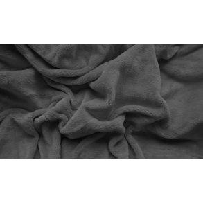 prostěradlo mikroplyš plyšové teplé jednolůžko 90 x 200 cm šedé
