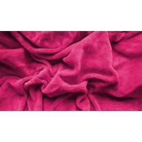 prostěradlo mikroplyš plyšové teplé jednolůžko 90 x 200 cm růžové